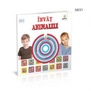 Invat animalele (contine cd) pentru varstele 2-5 ani