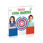 Invat limba franceza (contine CD) pentru varstele 3-7