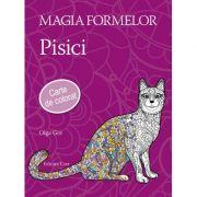 Magia formelor. Pisici - Carte de colorat pentru adulti