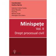 Minispete - Drept procesual civil (vol. 2)