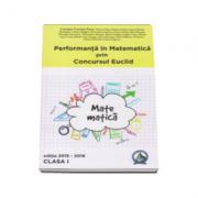 Auxiliar clasa pregatitoare pentru performanta in Matematica prin Concursul Euclid, editia 2015-2016 - Cristina-Lavinia Savu