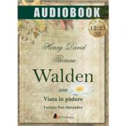 Walden sau Viata in padure (CD MP3, 12 ore si 23 min)