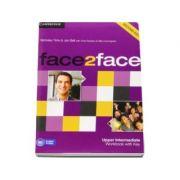 Face2Face Upper Intermediate 2nd Edition Workbook with Key - Caietul elevului pentru clasa a XII-a L2 (Cu cheie)