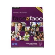 Face2Face Upper Intermediate 2nd Edition Students Book with DVD-ROM - Manualul elevului pentru clasa a XII-a L2 (Contine DVD)