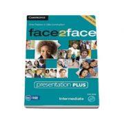 Face2Face Intermediate 2nd Edition Presentation Plus DVD-ROM - Pentru clasa a XI-a