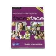 Face2Face Upper Intermediate 2nd Edition Class Audio CDs (3) - CD Audio pentru clasa a XII-a (L2)