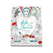 Alba ca Zapada - O minunata carte de colorat, care include un poster detasabil