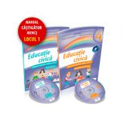 Educatie civica. Manual pentru clasa a IV-a - Semestrul 1+2 - Contine cate un CD pentru fiecare semestru