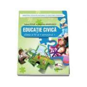 Educatie civica, manual pentru clasa a IV-a, Semestrul I si Semestrul II (Cleopatra Mihailescu, Tudora Pitila) - Contine CD cu editia digitala