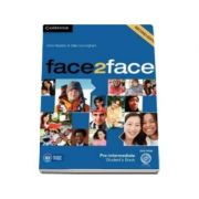 Face2Face Pre-intermediate (2nd Edition) Students Book with DVD-ROM - Manualul elevului pentru clasa a XI-a (Contine DVD)