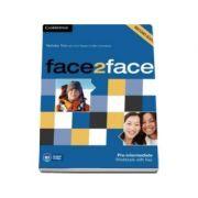 Face2Face 2nd Edition Pre-intermediate Workbook with Key - Caietul elevului pentru clasa a XI-a (Cu cheie)