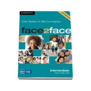 Face2Face Intermediate 2nd Edition Class Audio CDs (3) - Pentru clasa a XI-a
