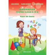 Matematica pentru clasa a IV-a - Caiet de lucru (Adina Grigore)