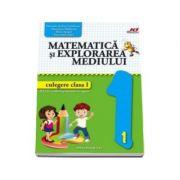 Matematica si explorarea mediului culegere pentru clasa I - Elena Apopei