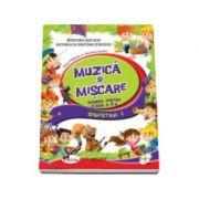 Muzica si miscare, manual pentru clasa a II-a, Semestrul I si Semestrul II (Dumitra Radu, Alina Pertea) - Contine CD cu editia digitala