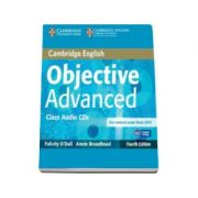 Objective Advanced Class Audio CDs (2) 4th Edition - Pentru clasa a XI-a
