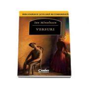 Versuri - Ion Minulescu - Bibliografie scolara recomandata