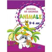 Invatam sa coloram Animale pentru 3-4 ani