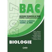 Bacalaureat Biologie 2017. Notiuni teoretice si teste pentru clasele a IX-a si a X-a