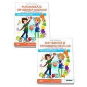 Matematica si explorarea mediului. Manual pentru clasa a I-a - Semestrele I si II - Contine editia digitala