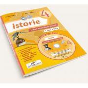 Istorie pentru clasa a IV-a. Caiet multifunctional - Contine manual digital pe CD