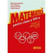 Matematica pentru clasa a VIII-a. Exercitii, probleme, teste