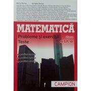 Matematica pentru clasa a IX-a, probleme si exercitii, teste - Profilul, servicii, resurse, tehnici (Trunchi comun de tip M-tehnologic)