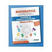 Matematica, culegere de exercitii si probleme pentru clasa a IV-a (Stefan Pacearca)