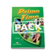 Curs pentru limba engleza. Prime time 2 students book with ieBook