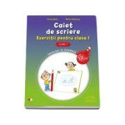 Caiet de scriere. Exercitii pentru clasa I - Marina Radulescu