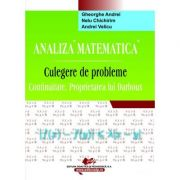 Analiza matematica. Culegere de probleme. Continuitate. Proprietatea lui Darboux