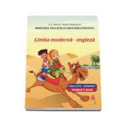 Limba moderna - engleza, manual pentru clasa a IV-a, semestrul I - Contine editia digitala (Smart Junior 4)
