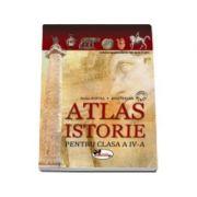 Atlas de istorie pentru clasa a IV-a - Doina Burtea