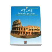Atlas istoric scolar - Editie ilustrata