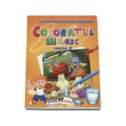 Coloratul magic. Cartea 3 - Ne amuzam si cu apa coloram