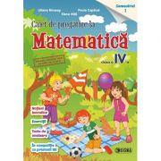 Caiet de pregatire la Matematica, pentru clasa a IV-a, semestrul 1 - Liliana Briceag
