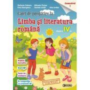Caiet de pregatire la Limba si literatura romana, pentru clasa a IV-a, semestrul 1 - Stefania Ciobanu