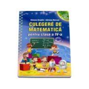 Culegere de matematica, pentru clasa a IV-a - Simona Grujdin