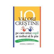 10 valori crestine pe care orice copil ar trebui sa le stie. Un ghid practic pentru familii