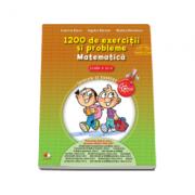 1200 de exercitii si probleme de Matematica, pentru clasa a IV-a - Angelica Gherman