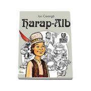 Harap-Alb - Carte cu CD audio si benzi desenate