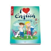 I love english. Dictionar ilustrat pentru copii, englez-roman - Ilustratii de Dan Negrut