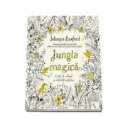 Jungla magica - Carte de colorat si activitati antistres