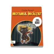 Motanul incaltat - Carte cu CD si benzi desenate