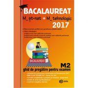 Bacalaureat matematica M2 - 2017 - St-nat+tehnologic
