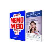 Pachetul Farmacistului 2017. Agenda Medicala 2017 si MemoMed 2017