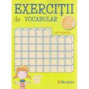 Exercitii de vocabular pentru clasele a II-a, a III-a si a IV-a