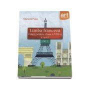 Limba franceza caiet pentru clasa a VIII-a L1 si L2, 2 in 1