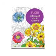 Colectia Coloreaza dupa numere - Flori (Else Lennox)