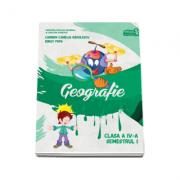 Geografie. Manual pentru clasa a IV-a, semestrul I (contine CD) - Carmen Camelia Radulescu, Ionut Popa